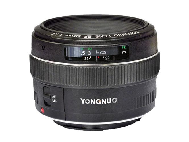 """Η Yongnuo θα λανσάρει prime φακό που """"φέρνει"""" λίγο στον 50άρη f/1.4 της Canon"""