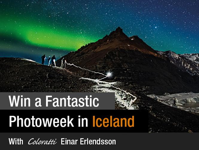 Μεγάλος διαγωνισμός της x-rite σας στέλνει φωτογραφικό ταξίδι στην Ισλανδία