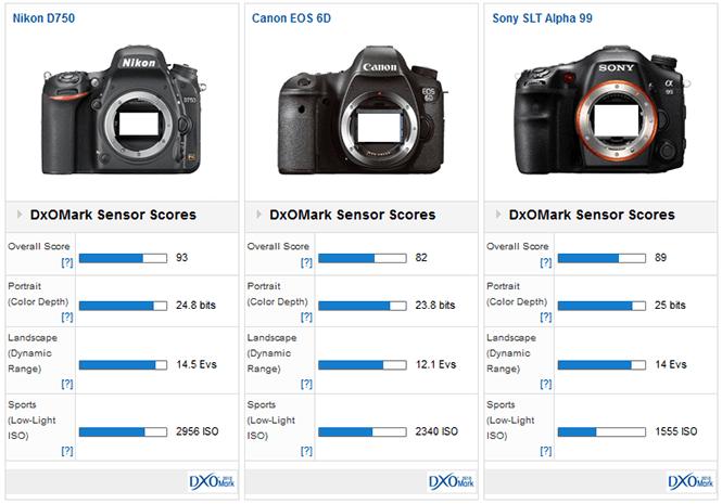 Nikon_D750__Canon_6D__Sony_A99
