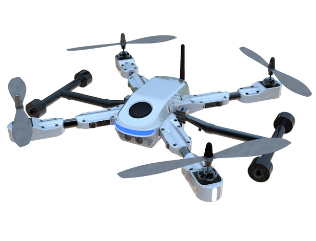 PlexiDrone, ένα αδιάβροχο drone που θα σας ακολουθάει όπου και να πάτε