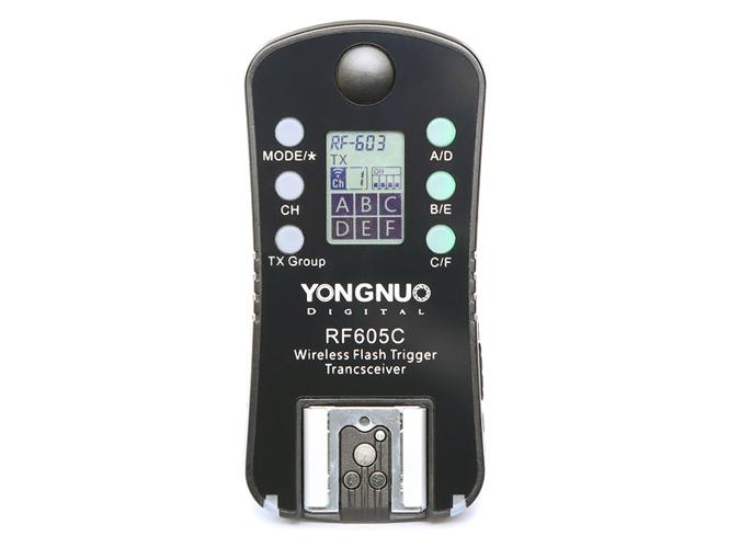 Η YongNuo ανακοίνωσε τον νέο πομποδέκτη ραδιοσυχνοτήτων YongNuo RF605