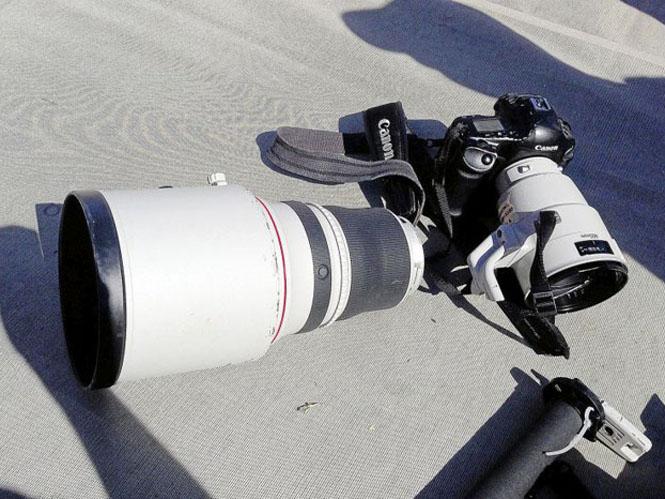 Αθλητής πέφτει πάνω σε φακό φωτογράφου αξίας 10.500 δολαρίων κόβοντας τον στην μέση