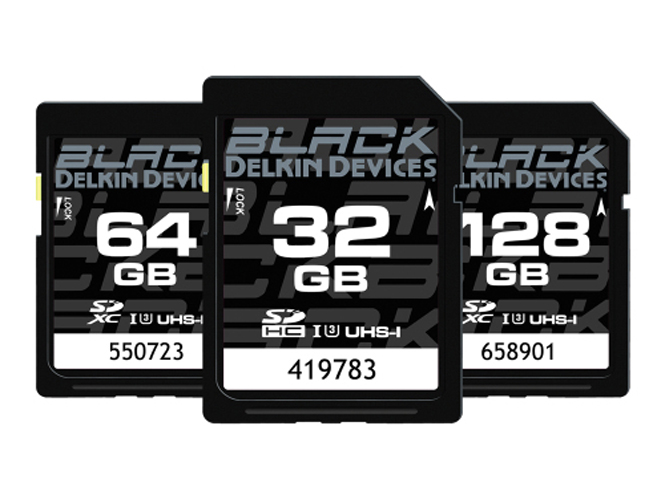 Delkin Black, νέα σειρά SD καρτών μνήμης