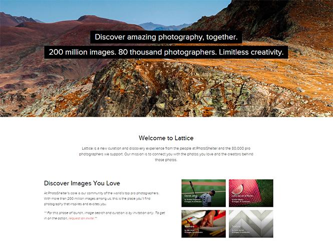 Lattice, νέα πλατφόρμα από την PhotoShelter αποκαλύπτει χιλιάδες φωτογραφικούς θησαυρούς