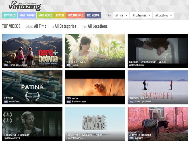 Vimazing, ξεκίνησε την λειτουργία του το κοινωνικό δίκτυο των κινηματογραφιστών και βιντεοληπτών