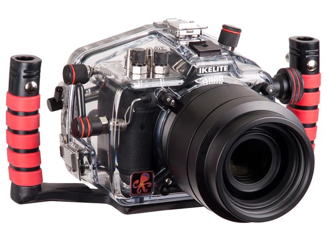 Νέο υποβρύχιο housing για την Canon EOS 7D Mark II από την Ikelite