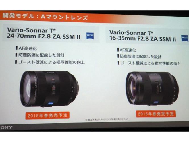 Δύο νέοι φακοί έρχονται από την Sony για A-mount