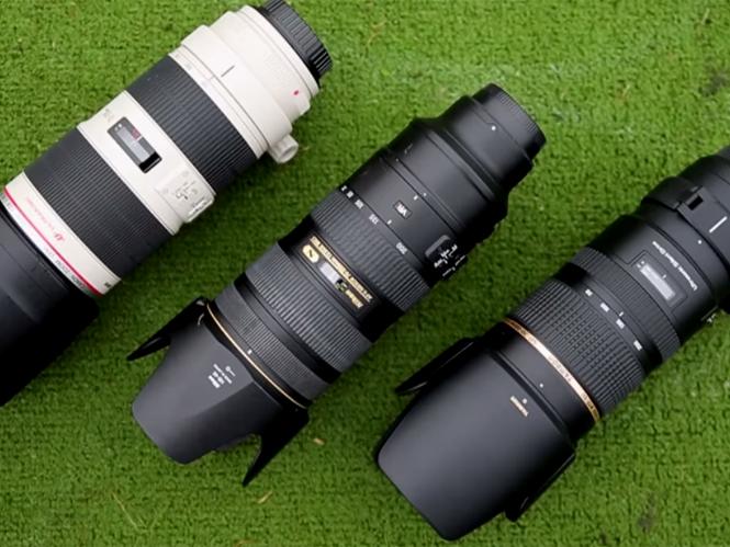 Canon 70-200mm και Nikon 70-200mm εναντίον του Tamron 70-200mm