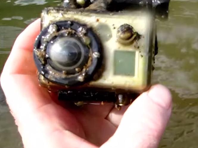 GoPro επιβιώνει στον βυθό ποταμού για 17 μήνες