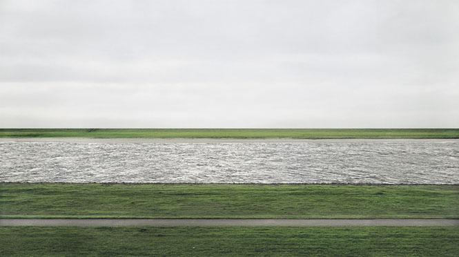 Rhein II, Andreas Gursky (1999)