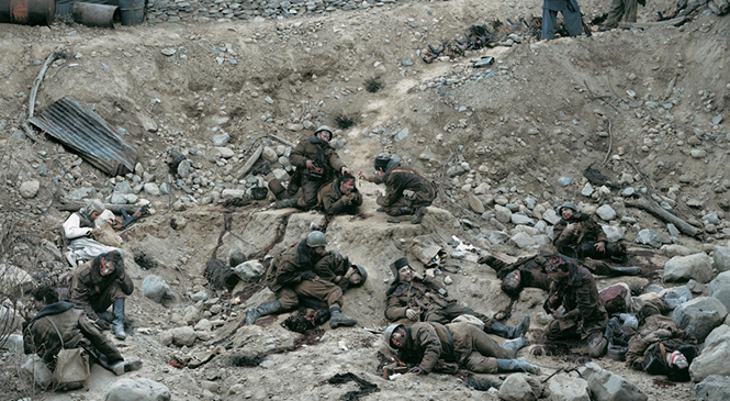 Dead Troops Talk,  Jeff Wall (1992)