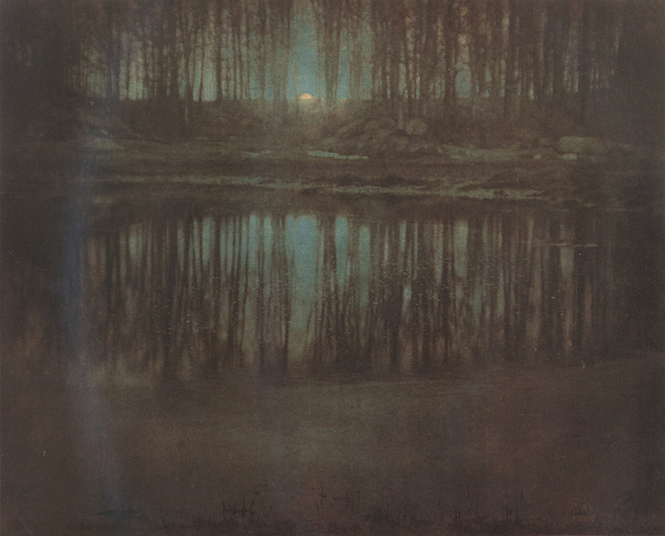 The Pond/Moonlight, Edward Steichen (1904)
