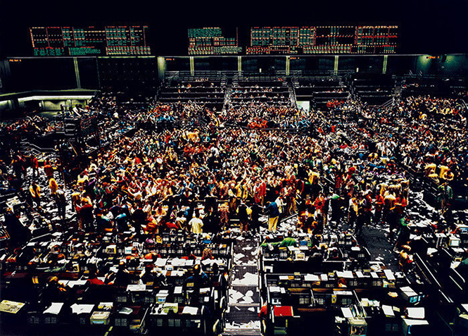Chicago Board of Trade III, Andreas Gursky (1999)