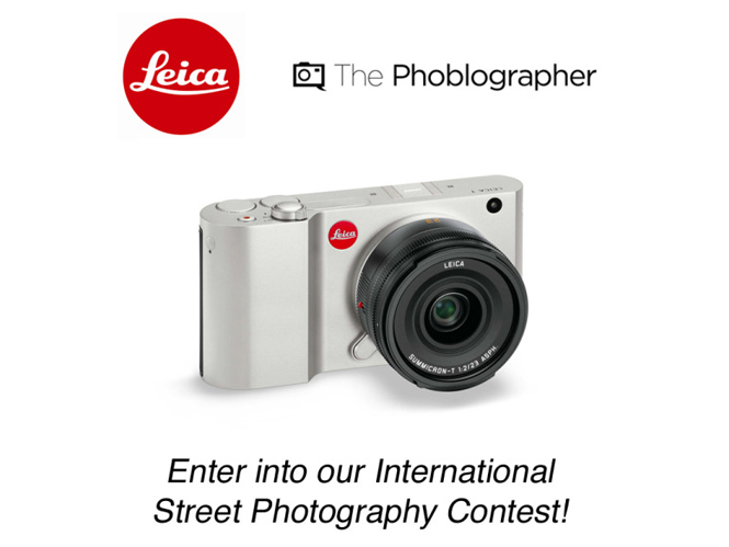 Διαγωνισμός φωτογραφίας δρόμου με έπαθλο μία Leica T