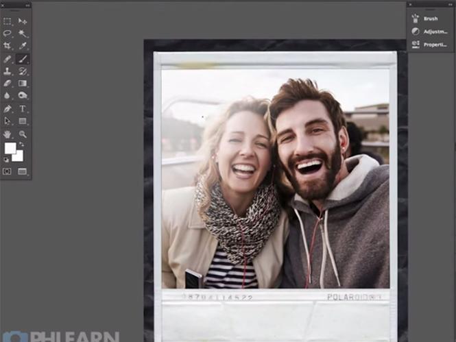 Δημιουργήστε μία Polaroid φωτογραφία στο Adobe Photoshop
