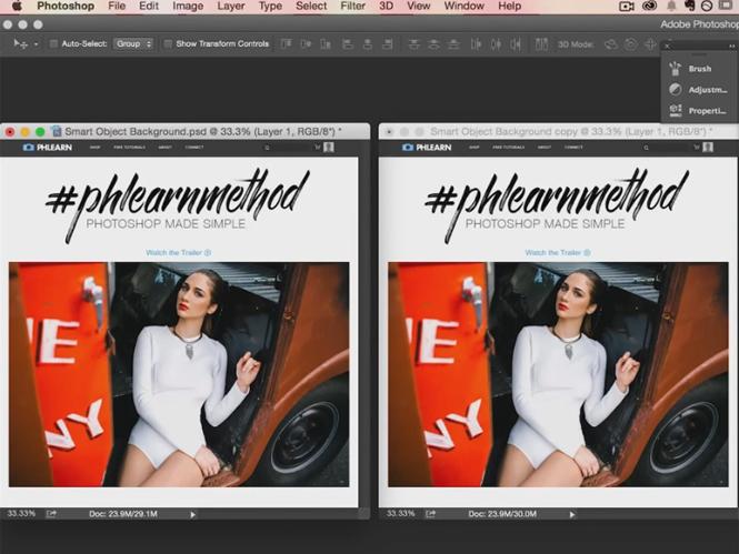Smart Objects στο Adobe Photoshop, δείτε πως να τα χρησιμοποιείτε