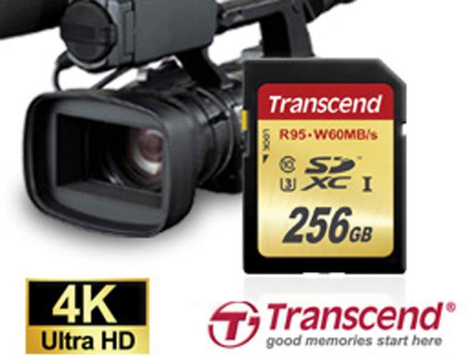 Η Transcend παρουσιάζει την κάρτα μνήμης 256GB SDXC UHS-I Speed Class 3