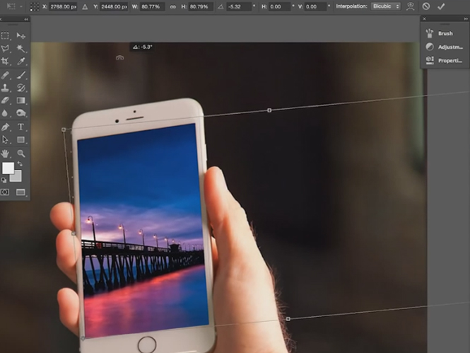 """Μάθετε τα μυστικά του εργαλείου """"Transform"""" του Adobe Photoshop"""