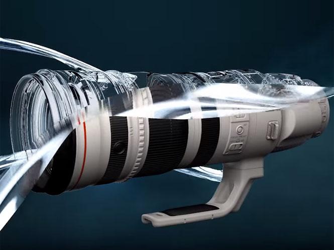 Η Canon παρουσιάζει τις τεχνολογίες που χρησιμοποιούνται στους EF φακούς της