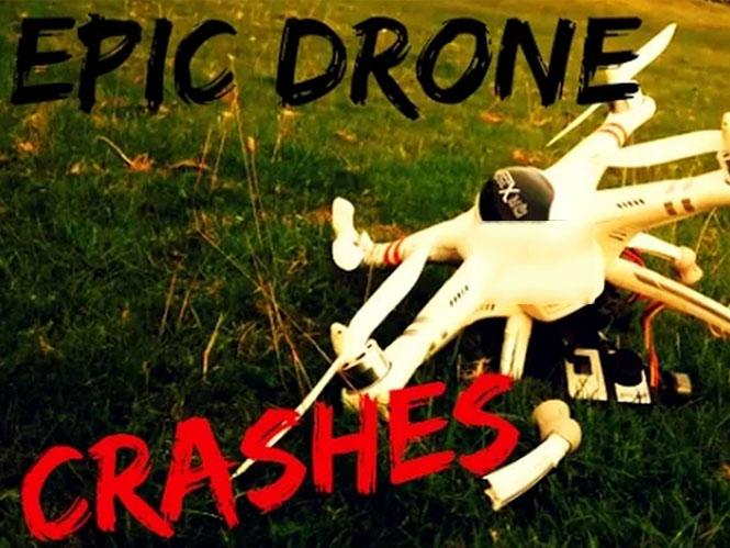 Οι πιο επικές πτώσεις ιπτάμενων drones για το 2015