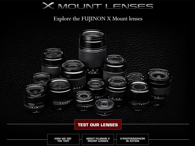 Fujifilm X mount, ειδική ιστοσελίδα σας βοηθάει να επιλέξετε τον φακό που θα αγοράσετε