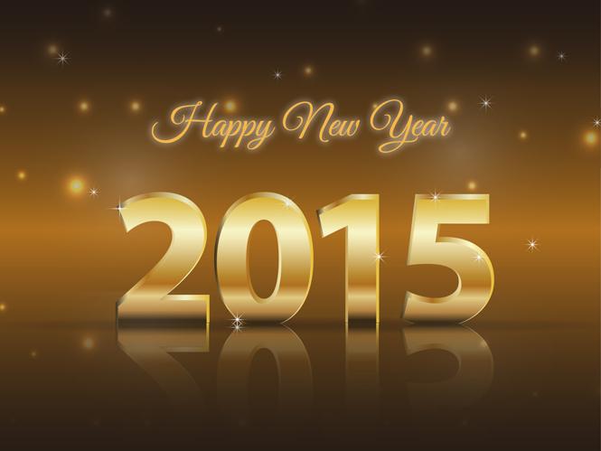 Χρόνια πολλά και ευτυχισμένο το 2015
