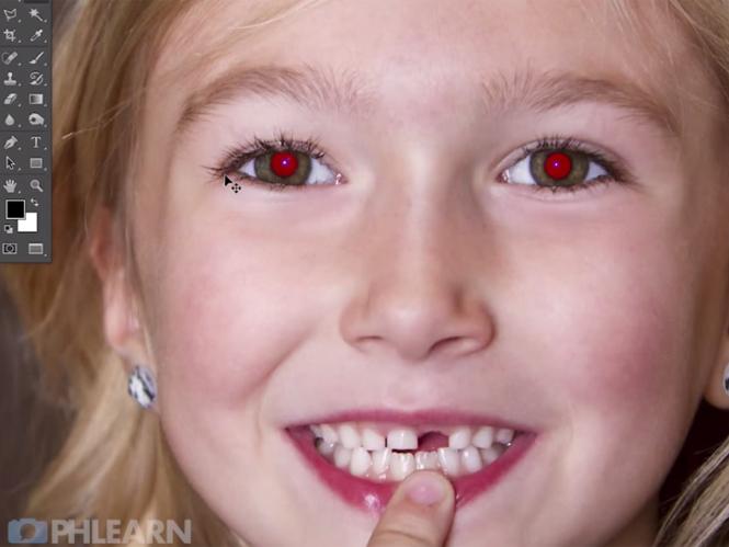 """Αφαιρέστε τα """"κόκκινα μάτια"""" με την βοήθεια του Adobe Photoshop"""