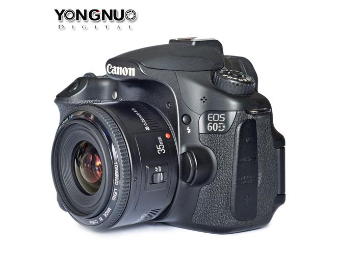 Yongnuo 35mm F/2 για Canon, σύντομα ο νέος κινέζικος κλώνος