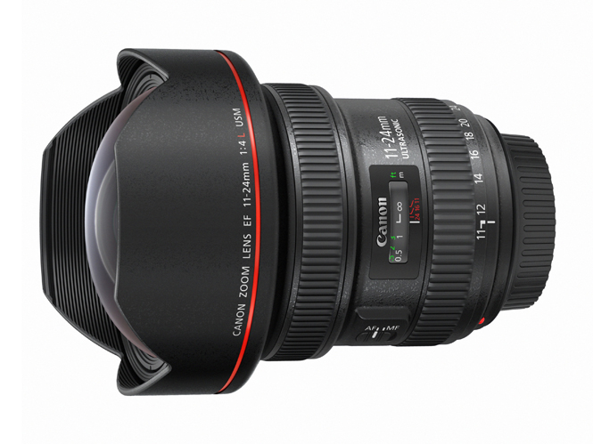 Η Canon παρουσιάζει τον Canon EF 11-24mm f/4L USM