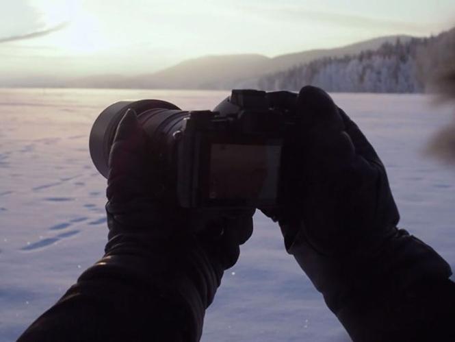 Escape, ένα video γυρισμένο με την Olympus OM-D E-M5 II στους -25°C