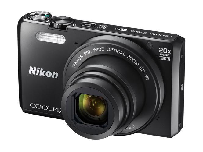 H Nikon παρουσιάζει την μηχανή τσέπης Nikon COOLPIX S7000