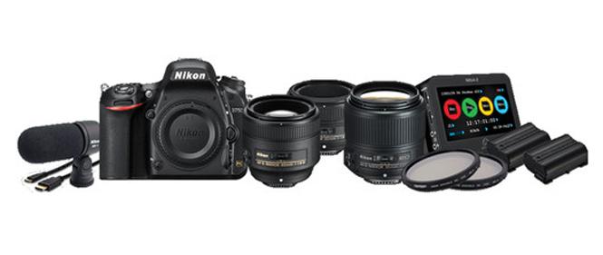 Nikon D750 DSLR Filmmaker