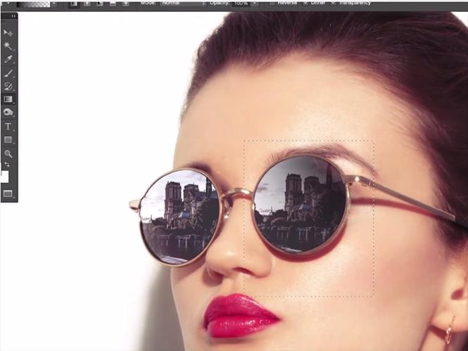 Πως δημιουργήσετε την αντανάκλαση που θέλετε σε γυαλιά ηλίου με το Adobe Photoshop