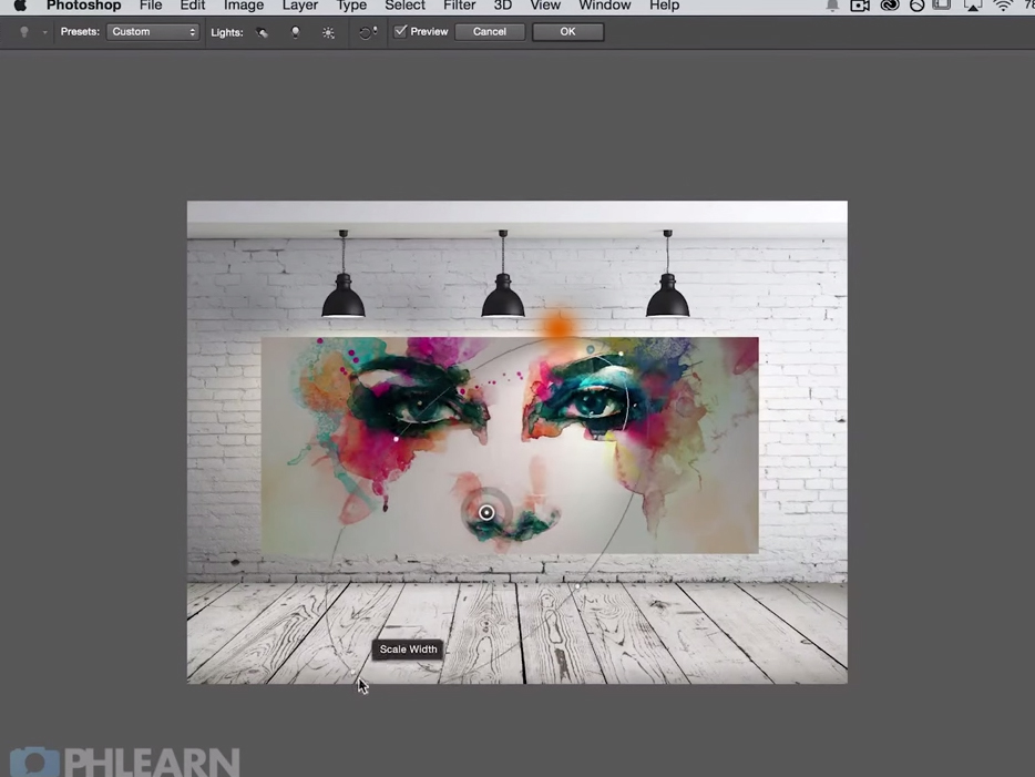 Προσθέτοντας φωτιστικά εφέ στο Adobe Photoshop