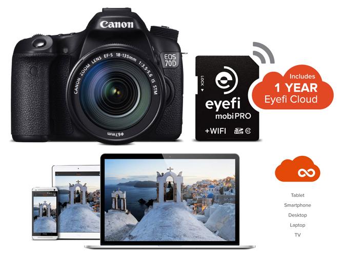 Eyefi Mobi Pro, μία κάρτα μνήμης για ασύρματη μεταφορά RAW αρχείων