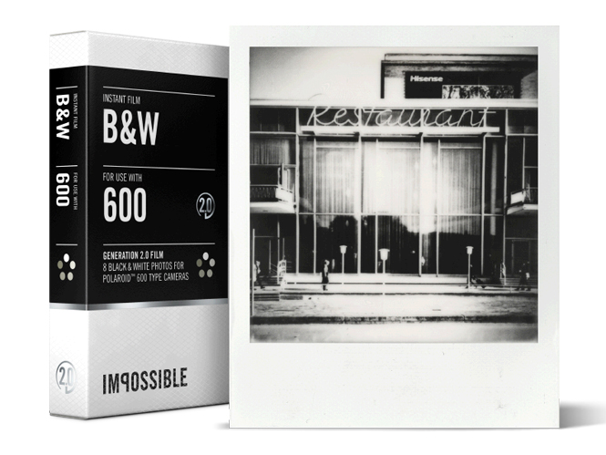 Impossible Generation B&W 2.0 Film