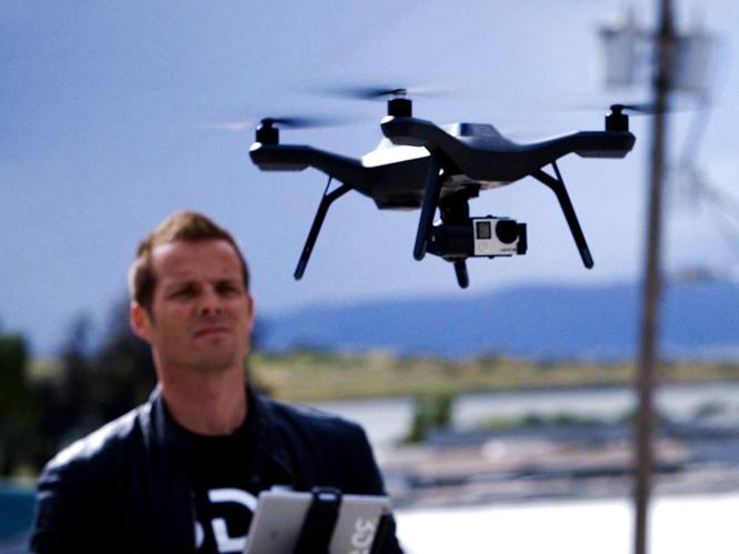 H 3D Robotics παρουσιάζει το έξυπνο drone, 3DR Solo