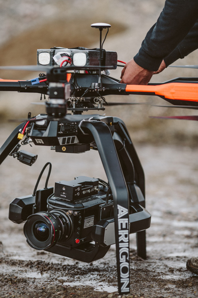 Phantom Flex4K drone-