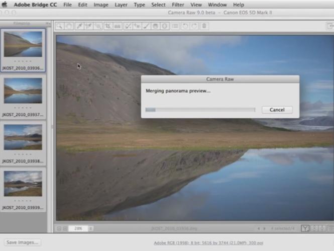 Δημιουργήστε πανοραμικές εικόνες με το νέο Adobe Camera Raw