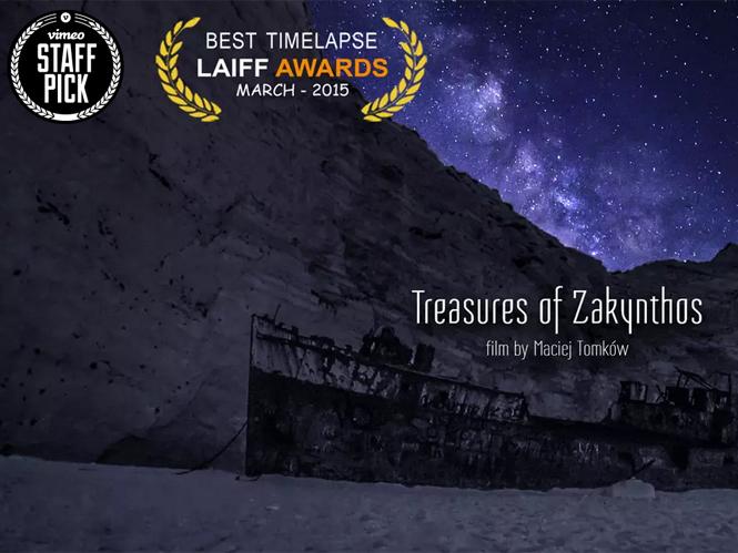 Treasures of Zakynthos, φοβερό Time Lapse video διαφημίζει την Ελλάδα