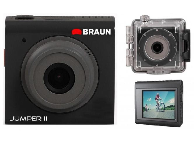 Braun Jumper II, η νέα οικονομική Action Camera της Braun