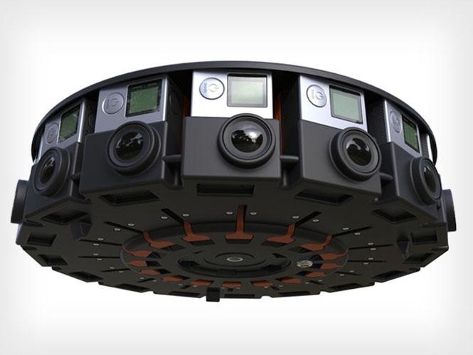 Google Jump, ένα rig με 16 GoPro κάμερες για να καταγράφετε τα πάντα γύρω σας
