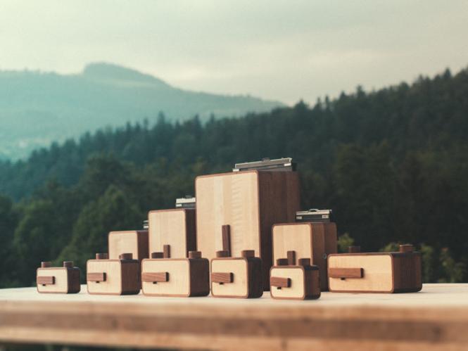 Η ONDU MkII είναι μια σειρά από χειροποίητες ξύλινες pinhole κάμερες
