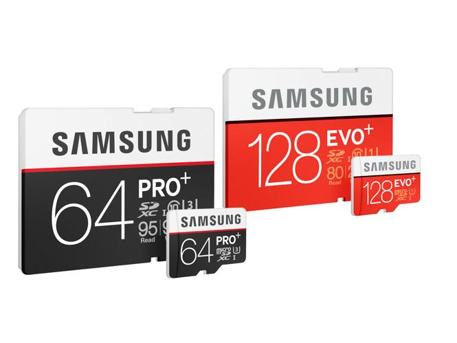 Η Samsung παρουσιάζει νέες κάρτες microSD για λήψη βίντεο Full HD και 4K