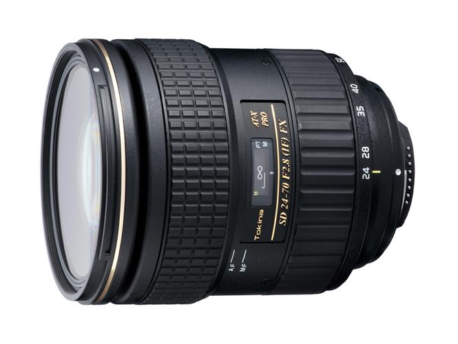 Ανακοινώθηκε ο νέος φακός Tokina AT-X 24-70MM F2.8 PRO FX