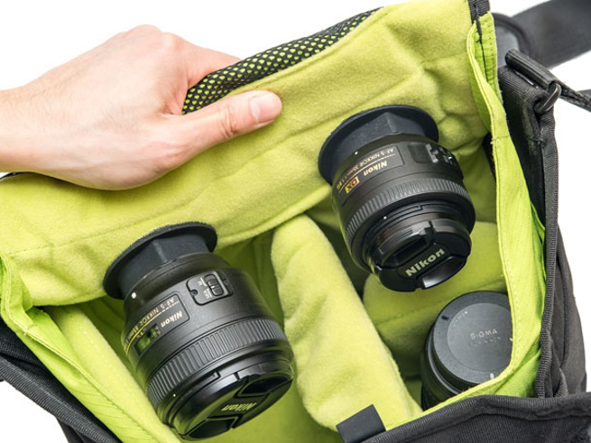 Lenspacks: νέος τρόπος αποθήκευσης φακών σε φωτογραφικές τσάντες
