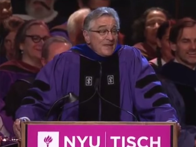 Ο Robert De Niro μιλάει για το τι χρειάζεται για να πετύχεις στον κόσμο των τεχνών
