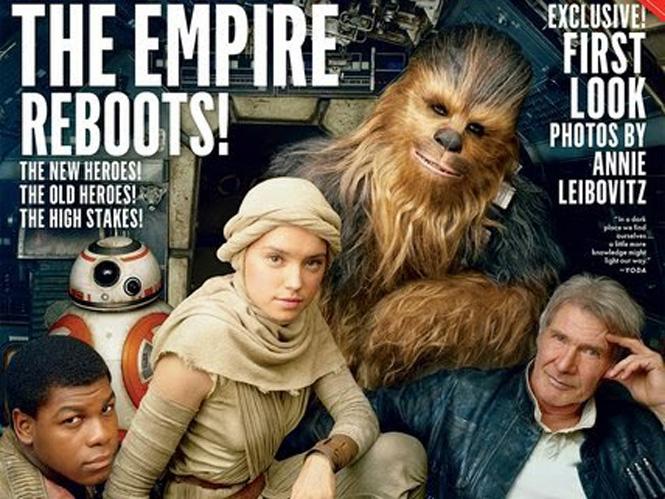 H Annie Leibovitz φωτογραφίζει τους πρωταγωνιστές των Star Wars