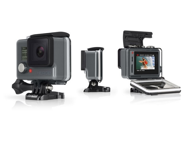 Η GoPro ανακοίνωσε τη νέα της κάμερα GoPro HERO+ LCD με οθόνη αφής
