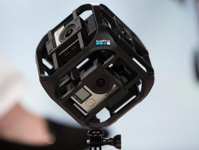 Η GoPro κατασκευάζει mount για τις κάμερές της για τη λήψη βίντεο 360 μοιρών